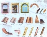 Bordatura di modellatura del marmo della parete come materiale della decorazione