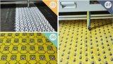 Corte del laser y máquina de grabado para el corte de la tela, zapatos materiales