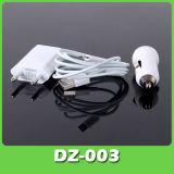 8 контактный универсальный USB-кабель дорожного зарядного устройства для iPhone 5 с ЕС пробку (DZ-003)