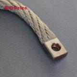 Conector flexível redondo em cobre estacado