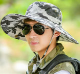 Chapéus de camuflagem de charme Chapéu de balde de boné de praia