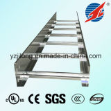 Hot DIP Galvanized Steel Ladder Cable Tray com UL, CE,