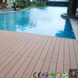 WPC Anti-ULTRAVIOLETA al aire libre impermeabilizan el revestimiento de suelos de la piscina WPC de la nadada (TW-02)