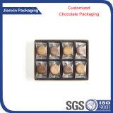 Contenitore di plastica del cioccolato di varia figura