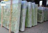 Естественный мрамор зеленого цвета поставкы фабрики Onyx