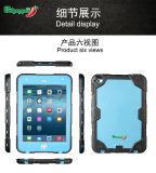La couverture de butoir militaire de stand du cas Mini4 neuf pour l'iPad mini 4 antichoc imperméabilisent
