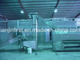 Batatas fritas totalmente automática e a linha de produção de batatas fritas congeladas