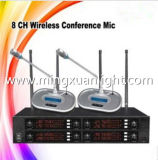 GS8008 8channels UHF Wireless Conference Room Microfone