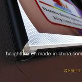 屋外の屋内超細いアルミニウムスナップフレームLEDのライトボックスを広告する
