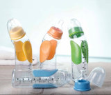 Nouveaux produits! Hot Selling PP Material 240ml Anti-Slip Baby Feeding Bottle