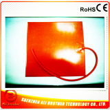 100c 600W 24V 300*210*1.5mm elektrische Silikon-Gummi-Auto-Heizung