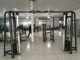 Équipement de conditionnement physique pour le corps commercial Chin DIP / Leg Raise Machine