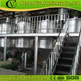 Planta de refinería de aceite de uso alimentario de aceite de soya, aceite de semillas de girasol y aceite de cacahuete