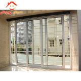 Personalización de la fábrica China de aluminio Puente Roto puertas correderas de cristal