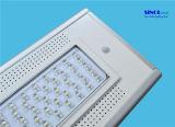 4300 루멘 40W LED는 세륨을%s 가진 태양 가로등 - 보장 3 년을 통합한다