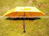 Tre ombrelli promozionali della volta con il marchio personalizzato (FU-3621B)