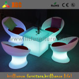 Barra Table e Chairs con RGB LED Light