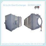 Tipo scambiatore di calore del piatto dell'aria per aria-aria come riscaldatore di aria