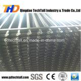 rete fissa d'acciaio galvanizzata ricoperta del ferro saldato della polvere nera di 2400X2100mm per il giardino/villa