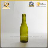 187mlねじ旧式な緑(591)の上の小型ワイングラスのびん