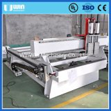 Double Heads Granite Cutting Wood Carving Woodworking Machine China Price