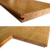 Sistema del tecleo o suelo de bambú natural tejido hilo de T&G