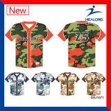 Healongのグラフィック・デザインのカスタマイズされた野球のジャージーのユニフォームのワイシャツ
