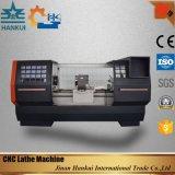 자동적인 윤활 편평한 침대 CNC 선반 (CK6140)
