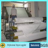 제조자 공급 인쇄를 위한 백색 회색 레이온 직물
