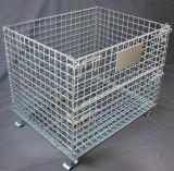 鋼鉄記憶装置の金網のケージ(800*600*640)