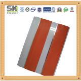 Paneles decorativos de PVC con la impresión de madera para el hogar y oficina