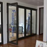 Porte de pliage en aluminium de profil d'interruption thermique de qualité K07006