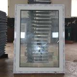 Finestra interna K02024 di inclinazione e di girata di profilo bianco di colore UPVC