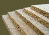 Tarjeta del MDF de la ranura de la melamina de la alta calidad para la decoración