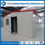 Camera prefabbricata della struttura d'acciaio dell'indicatore luminoso del pannello a sandwich del rifornimento della Cina