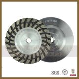 125mm Double Row Diamond Grinding Wheel for Stone Polishing