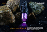 Da lanterna elétrica fluorescente de Detectorled do dinheiro da deteção do jade da luz ultravioleta lanterna elétrica UV