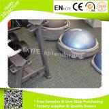 Caucho de goma del suelo de Crossfit, suelo de la gimnasia usado