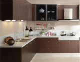 Kundenspezifisches neues Melamin stellte Küche-Schrank gegenüber (zg-013)