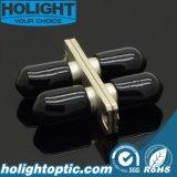De Optische Adapter St Dx mm van de vezel met Flens