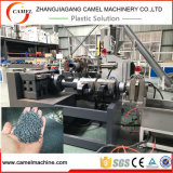 Máquina de reciclaje plástica de la película inútil del PE con la granulación