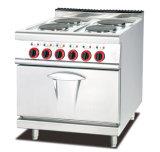 Intervallo elettrico di combinazione con il piatto 4-Hot con il forno