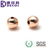 AISI316 Boule en acier inoxydable pour bijoux en corde Bague en acier avec couleur argent