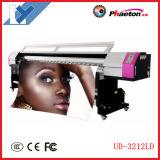 L'imprimante à jet d'encre 1440pi dissolvante d'Eco de grand format de la galaxie Ud-3212ld avec 2 Dx5 dirige la machine d'impression de Digitals