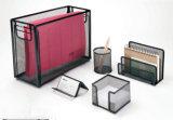 사무실 책상 부속품은 금속 메시 문구용품 사무실 고정되는 사무실 책상 부속품을 놓았다