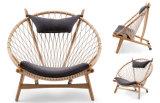 Modern Hotel Restaurant Dining Furniture Wooden Chaise Longue (HC-LW230)