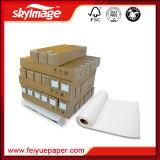 papier collant/visqueux/adhésif de 75GSM de sublimation de transfert pour l'impression de Spandex