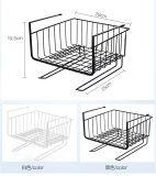 Unter Raumersparnis-einfachem Befestigungs-Stapel-Plättchen des Regal-Korb-2PCS unter Regal-Speicher-passenden Doppelhaken für Garderoben-Schreibtisch-Bücherregal-Schrank-Schrank