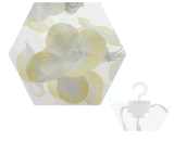 Свет 2017 Icicle Fairy света занавеса памяти цветка ткани 100LED безопасности 2.25*0.5m RoHS Ce белый для каф шкафа самонаводит сад СИД