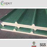 Los paneles de emparedado aislados estructurales de la azotea/de la pared de la PU del poliuretano del sitio limpio